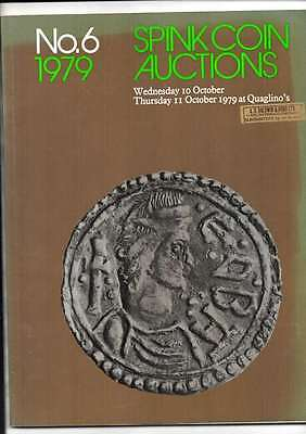 Spink Auction Catalogue No 6 1979 10/11Th October 1979 At Quaglinos