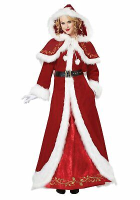 California Costumes Collections 01557 Mrs. Claus Deluxe