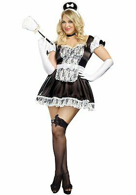 Dreamgirl A9507X Plus Size Sexy Maid For You Costume