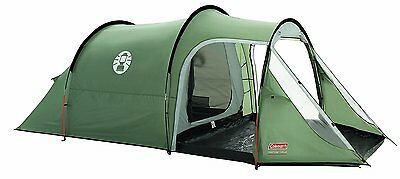 Campsite Store 3 People Coleman Coastline Plus Tunnel Green 100% polyester New