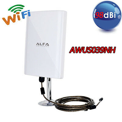 Antenna Impermiabile Wireless Amplificatore Wifi Ultra Potente Esterno Interno
