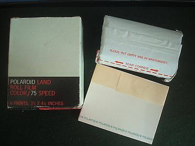 Polaroid Roll Film Colour 75 Land Picture Roll Film Expired 1974 Factory Sealed