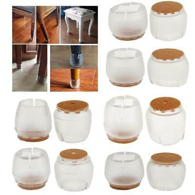 10pcs Chair Leg Caps Silicone Floor Protector Furniture Table Feet Covers