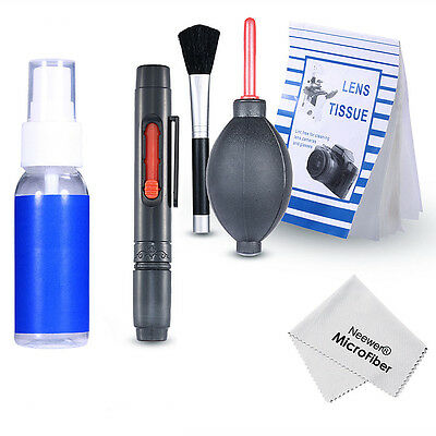 UK Professional 6 in 1 Cleaning Kit Tool for DSLR Cameras &Sensitive Electronics