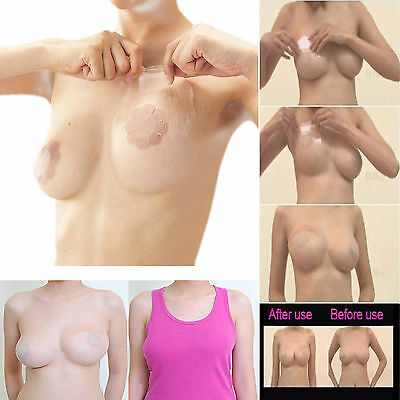 Bare Lift Tape Instant Breast Boob Push Up Support Invisible Bra Adhesive Tape