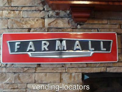 MCCORMICK FARMALL IH Vintage Retro Style Metal Tin Large Tractor Sign New