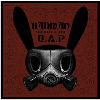 eldo B.A.P BADMAN 3rd Mini Album CD,48p Photo Book,Card,Stencil  Sealed