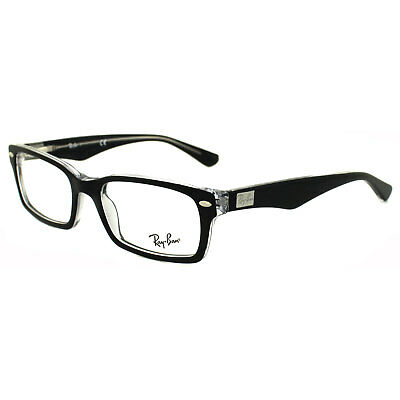 Ray-Ban Glasses Frames 5206 2034 Top Black on Transparent 52mm