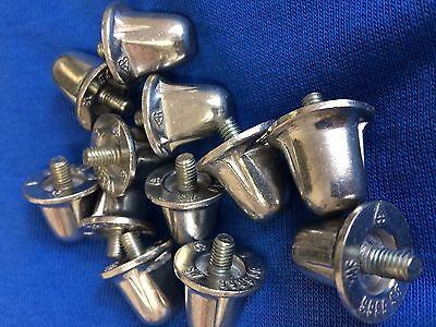 RUGBY BOOT REPLACEMENT ALUMINIUM STUDS 18 21 mm. ANY QUANTITY 6 12 18 24 36