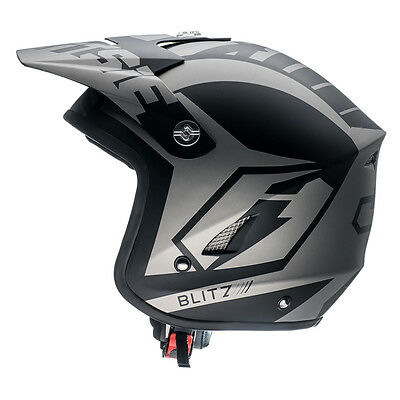 New Jitsie HT1 Blitz Trials Off Road Helmet Beta Sherco Gas Gas Oset Open Face