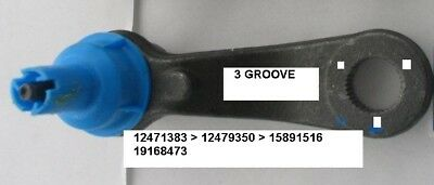 OEM GM Genuine Original Equipment Pitman Arm (3) GROOVE APPLICATION P/N 19168473