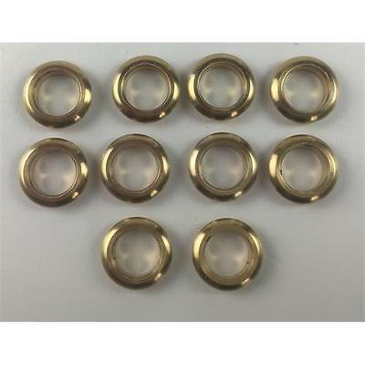 10 x Brass Glazed Portholes 7mm For Model Boats