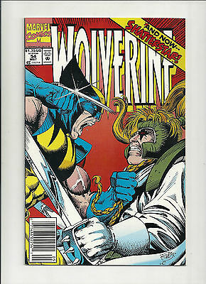 Wolverine  #54 NM- (Vol 2)