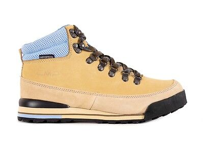 CMP Hiking Shoe Hiking Shoes Heka Beige Leather Waterproof Lace-ups