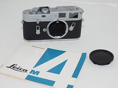 Leica M4 vintage 35mm rangefinder camera !  Use all Leica M and Leica M39x1 lens