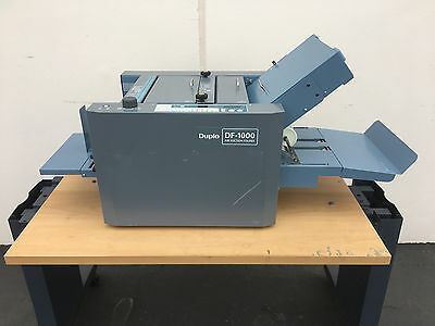 Duplo DF-1000 Automatic Paper Folder with Airfeed