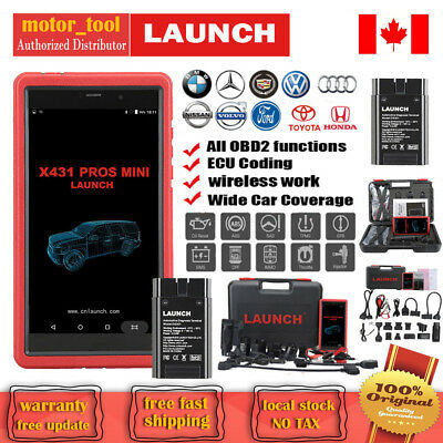 Original LAUNCH X431 PROS Mini Diagnostic Scanner Key Program BT WIFI X431 V Pro