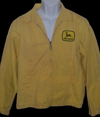Vintage John Deere Yellow Louisville Jacket Men's Large
