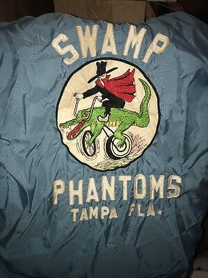 1960s SWAMP PHANTOMS MOTORCYCLE CLUB Colors VEST Original TAMPA FLORIDA VINTAGE