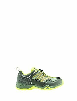 CMP Trekking Shoes Hiking Boots Green Sirius Low Cord Waterproof