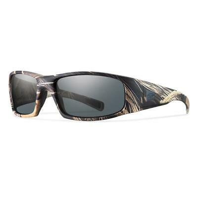 6d8d9327f5 Smith Hideout Elite Tactical Sunglasses Men s Realtree Max 4 Camo Gray