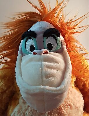 "Huge 12"" Disney Store KING LOUIE Plush From JUNGLE BOOK Brand New w/ Tag !!!"