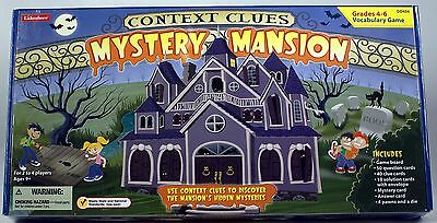Context Clues Mystery Mansion Vocabulary Game Lakeshore home school grades 4-6