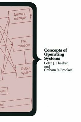 Concepts of Operating Systems (Macmillan Compu... by Theaker, Colin J. Paperback