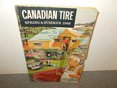 Vintage Spring Summer 1966 Canadian Tire Catalog Great Pictures Oil Sports.