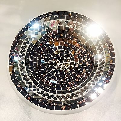 bowl plate decorative display dish modern Mosaic Handmade Large decor NEW STYLE