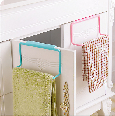 NEW Bathroom Kitchen Towel Rack Hanging Holder Organizer Cabinet Cupboard Hanger