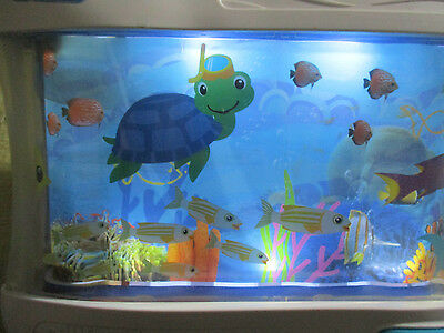 Baby Einstein Sea Ocean Aquarium Dreams Soother Crib Toy With Lights And Music