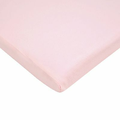 American Baby Company 100% Cotton Value Jersey Knit Fitted Cradle Sheet, Pink