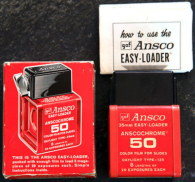 Ansco 35mm Easy-Loader for bulk film; originally expired in June 1967