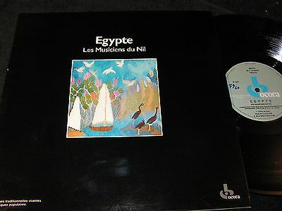 EGYPTE Les Musiciens du Nil / French LP 1985 OCORA 558514