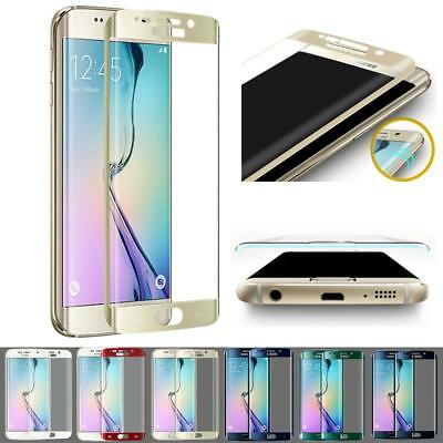 2X Full Screen 3D Tempered Glass Protector For Samsung Galaxy S6 Edge S7 S7 Edge