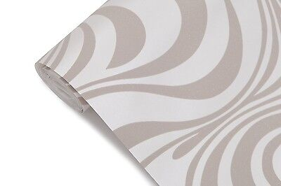 Modern Luxury Abstract Curve 3d Wallpaper Roll Mural Papel