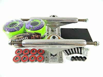Independent 139 Stg11 Trucks + Spitfire 54mm 80HD Chargers Classic Green Wheels