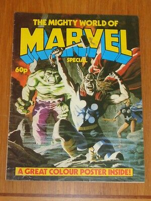 Mighty World Of Marvel Special Marvel British Comic 1983 Vg