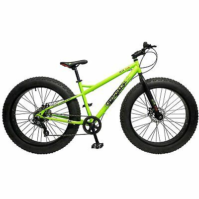 "26 Zoll Coyote Skid Row Fatbike FAT TYRE 26"" x 4.0"" MTB Fahrrad Mountainbike"