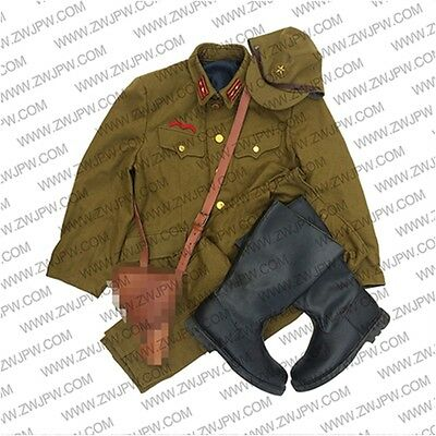WW2 Japanese Army Type 98 General Uniform Sets Jacket&Pants Hat
