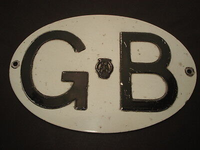 C1950S Vintage A.a.g.b.plate