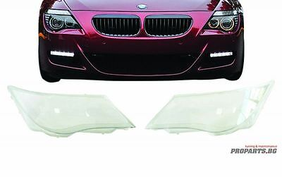 BMW E63/E64 04-07 Coupe Convertible M6 Set Headlights Headlamps Lamp Lens Cover