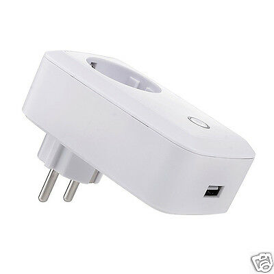 Ultra Smart WiFi Remote Control For phone Switch Power Socket Outlet UK Plug
