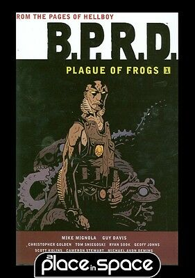 Bprd Plague Of Frogs Vol 01 - Hardcover