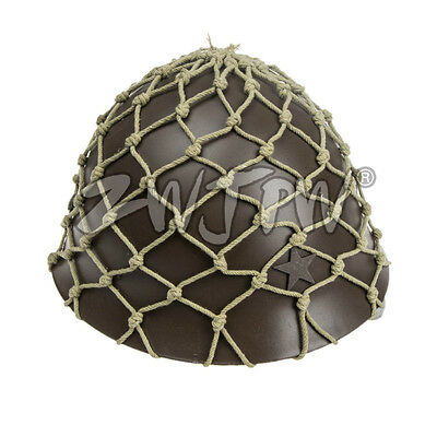 Ww2 Japanese Army 90 Helmet With Camouflage Net Cover