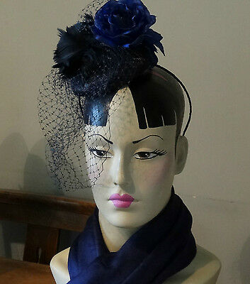 vintage mannequin bust head shop jewellery millinery display hand painted