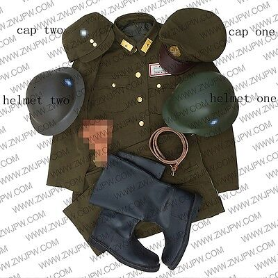 ww2 KMT Chinese nationalist party officer combat army uniform with accessories