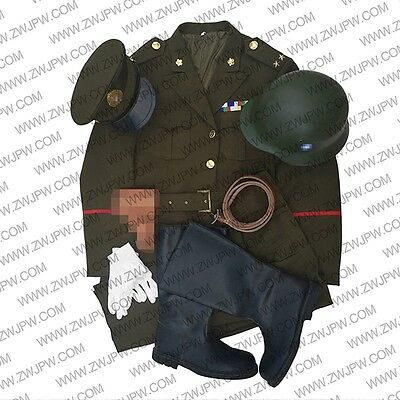 ww2 KMT chinese nationalist party set officer combat uniform with accessories