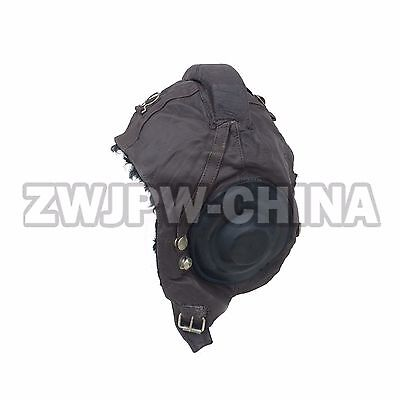 Original China Type 59 Flying Leather Cap Warm Fur Thicken New With Defect